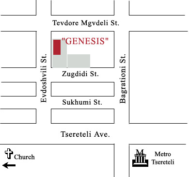 Map of The GENESIS Association